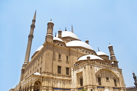 Alabaster Mosque in Cairo