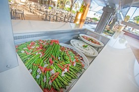 Adams Beach - Dionyssos Restaurant Buffet