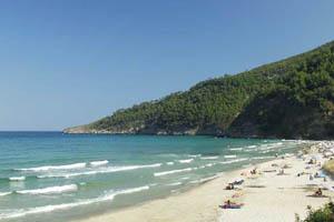 Thassos - pláže