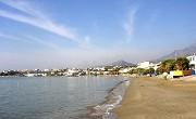 Pláž u letoviska Makrigialos - jihovýchodní Kréta