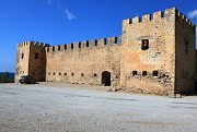 Pevnost Frangokastello poblíž Plakiasu