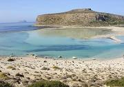 Laguna Balos na západní Krétě je naprosto úchvatná
