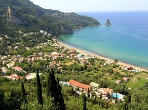 Korfu - Smaragdový ostrov - Agios Gordis