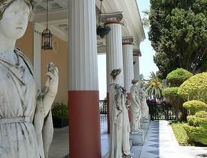 Korfu - zámek Achillion