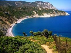 Skiathos - pobřeží ostrova