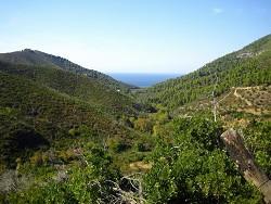 Skiathos - vnitrozemí ostrova