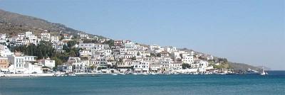 Andros - středisko Batsi