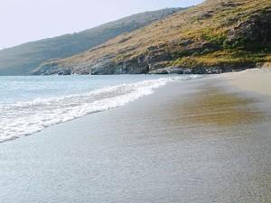 Andros - pláž