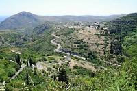 Kythira - takto vypadá vnitrozemí ostrova