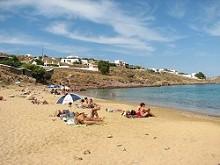 Mykonos - pláž Panormos