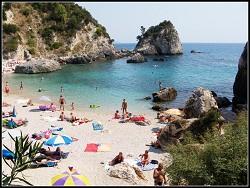Parga - pláž Krioneri
