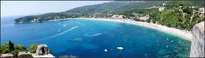 Parga - pláž Valtos