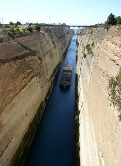 Peloponés - Korinthský průplav