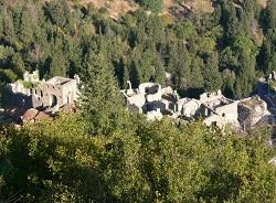 Peloponés - hrad Mistra