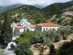 Samos - Klášter Timios Stavros u Vathy