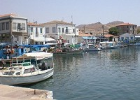 Limnos - procházka přístavem