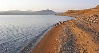 Pláž na ostrově Limnos