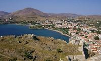 Myrina - hlavní město Limnosu