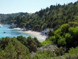 Pobřeží ostrova Paxos