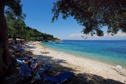 Pláže u ostrova Paxos