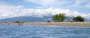 Olympská riviéra - moře