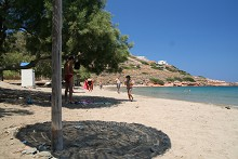 Pláže na ostrově Syros
