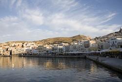 Erimoupolis na ostrově Syros