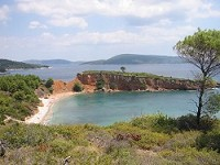 Pláže na ostrově Alonissos