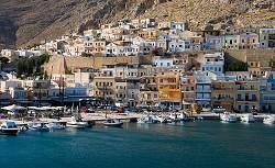 Pothia na ostrově Kalymnos