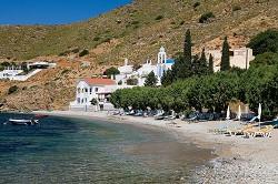 Kalymnos - pohled na středisko Emborios
