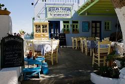 Taverna na ostrově Kalymnos