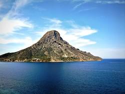 Ostrov Telendos u ostrova Kalymnos